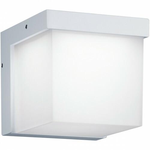LED Tuinverlichting - Tuinlamp - Trion Yanely - Wand - 3W - Mat Wit - Aluminium