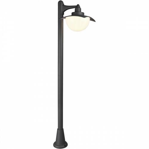 LED Tuinverlichting - Vloerlamp - Trion Danizo - Staand - E27 Fitting - Mat Zwart - Aluminium