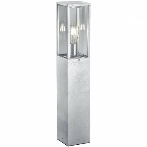 LED Tuinverlichting - Staande Buitenlamp - Trion Garinola XL - E27 Fitting - Mat Grijs - Aluminium