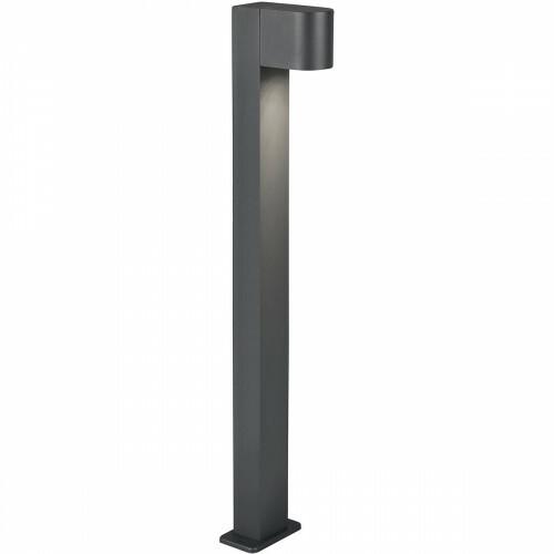 LED Tuinverlichting - Vloerlamp - Trion Royina XL - Staand - GU10 Fitting - Mat Zwart - Aluminium