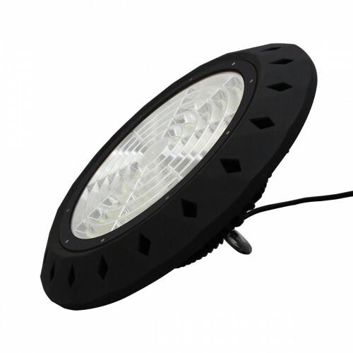 LED UFO High Bay 200W - Aigi - MEAN WELL Driver - Magazijnverlichting - Waterdicht IP65 - Helder/Koud Wit 5700K - Aluminium