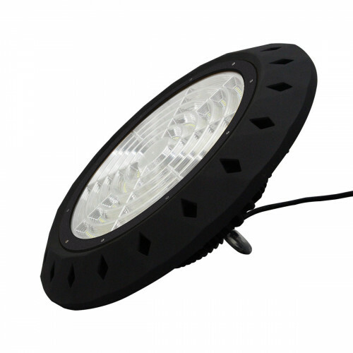 LED UFO High Bay 200W - Aigi - MEAN WELL Driver - Magazijnverlichting - Waterdicht IP65 - Natuurlijk Wit 4000K - Aluminium