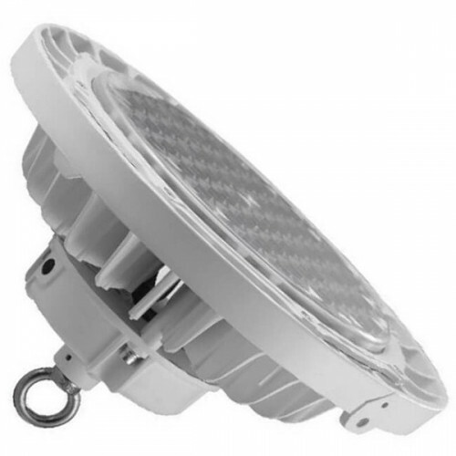 OSRAM - LED UFO High Bay - 150W UGR17 Dimbaar - Magazijnverlichting - Waterdicht IP65 - Helder/Koud Wit 6000K - Aluminium