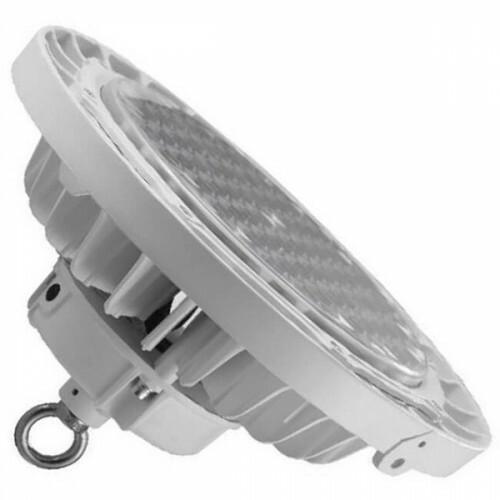 OSRAM - LED UFO High Bay - 200W UGR17 Dimbaar - Magazijnverlichting - Waterdicht IP65 - Helder/Koud Wit 6000K - Aluminium