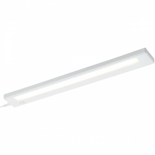 LED Keukenkast Verlichting - Trion Alyna - 7W - Warm Wit 3000K - Rechthoek - Mat Wit