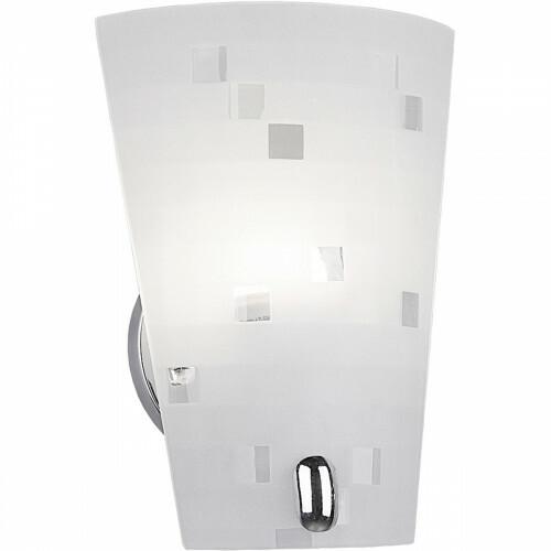 LED Wandlamp - Wandverlichting - Trion Colmino - E27 Fitting - Rechthoek - Mat Chroom - Aluminium