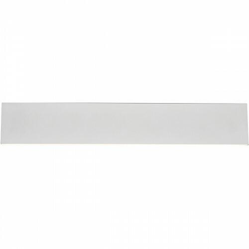 LED Wandlamp - Wandverlichting - Trion Concy - 18W - Warm Wit 3000K - Dimbaar - Rechthoek - Mat Wit - Aluminium
