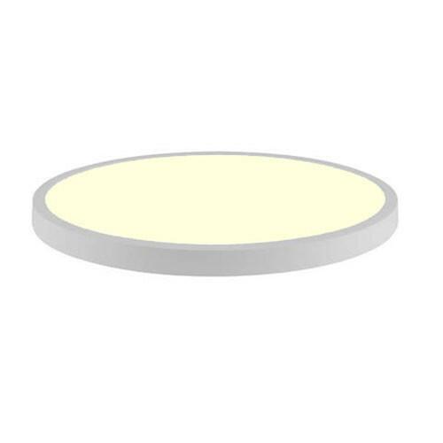 LED Paneel - Ø60 Warm Wit 3000K - 48W Opbouw Rond - Mat Wit - Flikkervrij