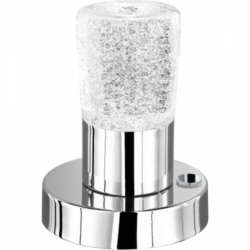 OSRAM - LED Tafellamp - Trion Crostila - 4W - Warm Wit 3000K - Rond - Glans Chroom - Aluminium