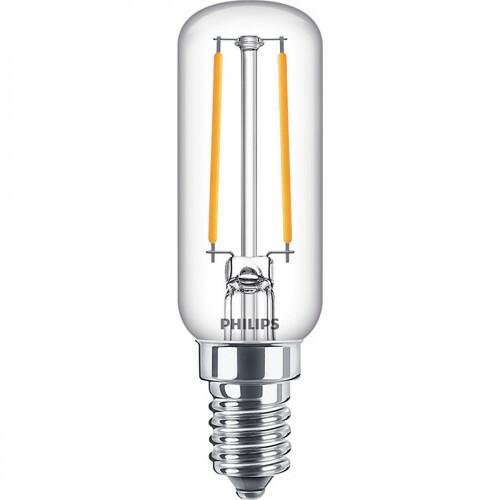 PHILIPS - LED Lamp - CorePro Tube Filament 827 T25L - E14 Fitting - 2.1W - Warm Wit 2700K   Vervangt 25W