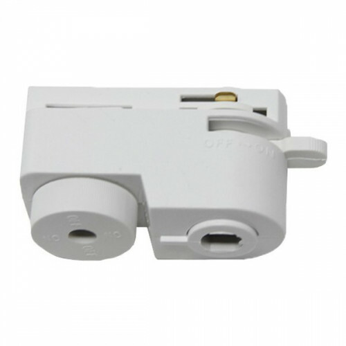 Spanningsrail Connector Hanglamp - Facto - 1 Fase - Wit