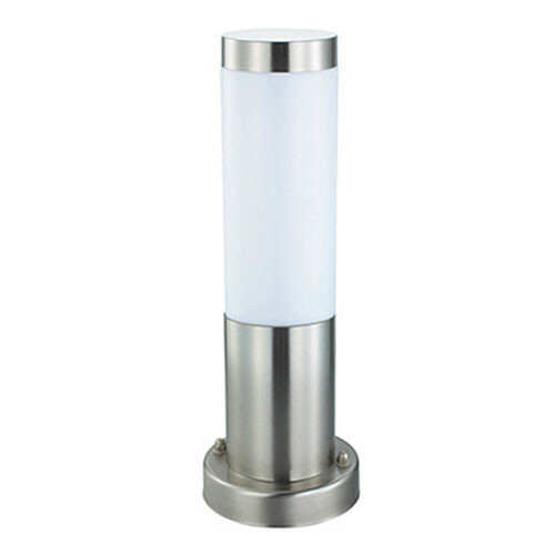 LED Tuinverlichting - Buitenlamp - Laurea 3 - Staand - RVS - E27 - Rond