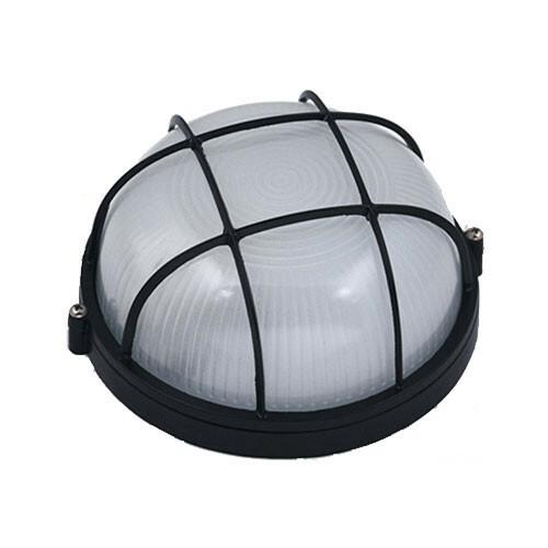 LED Tuinverlichting - Buitenlamp - Regibus - Wand - Aluminium Mat Zwart - E27 - Rond