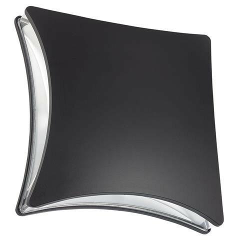 LED Tuinverlichting - Buitenlamp - Taflo - Wand - Aluminium Mat Zwart - 5.5W Natuurlijk Wit 4100K - Vierkant