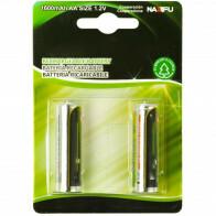 Batterij - Aigi Cinus - AA/HR06 - Oplaadbaar - 12V - Alkaline Batterijen - 1600 mAh - 2 Stuks