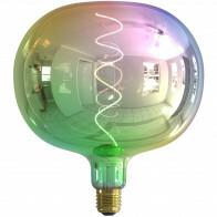CALEX - LED Lamp - Boden Metallic - E27 Fitting - Dimbaar - 4W - Warm Wit 2000K - Meerkleurig