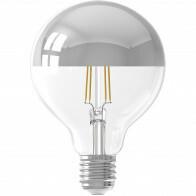 CALEX - LED Lamp - Globe - Filament G95 Kopspiegellamp - E27 Fitting - Dimbaar - 4W - Warm Wit 2300K - Transparant Helder