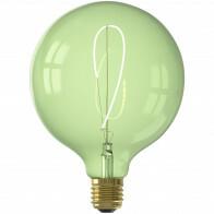 CALEX - LED Lamp - Nora Emerald G125 - E27 Fitting - Dimbaar - 4W - Warm Wit 2200K - Groen