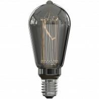 CALEX - LED Lamp - Rustic ST64 - E27 Fitting - Dimbaar - 3W - Warm Wit 2000K - Rookkleur