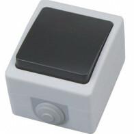 Enkelpolige Schakelaar - Opbouw - Enkel - Waterdicht IP54