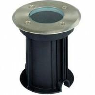 LED Grondspot - Viron Mia - Inbouw - Rond - GU10 Fitting - Waterdicht IP65 - Grijs - RVS - Ø110mm
