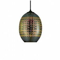 LED Hanglamp 3D - Radus - Ovaal - Chroom Glas - E27