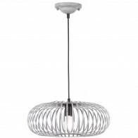 LED Hanglamp - Hangverlichting - Trion Johy - E27 Fitting - Rond - Antiek Grijs - Aluminium