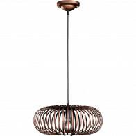 LED Hanglamp - Hangverlichting - Trion Johy - E27 Fitting - Rond - Antiek Koper - Aluminium