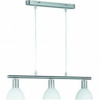 LED Hanglamp - Trion Dolina - E14 Fitting - 3-lichts - Rond - Mat Nikkel - Aluminium