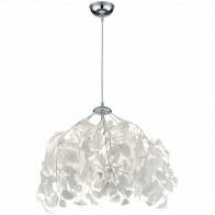 LED Hanglamp - Trion Lovy - E14 Fitting - Rond - Glans Chroom Aluminium