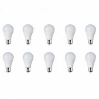 LED Lamp 10 Pack - E27 Fitting - 15W - Helder/Koud Wit 6400K