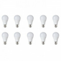 LED Lamp 10 Pack - E27 Fitting - 8W - Helder/Koud Wit 6400K