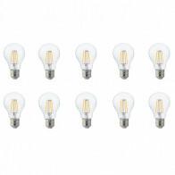 LED Lamp 10 Pack - Filament - E27 Fitting - 4W - Warm Wit 2700K