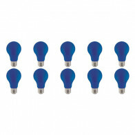LED Lamp 10 Pack - Specta - Blauw Gekleurd - E27 Fitting - 3W