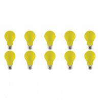 LED Lamp 10 Pack - Specta - Geel Gekleurd - E27 Fitting - 3W