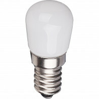 LED Lamp - Aigi Santra - 1.5W - E14 Fitting - Helder/Koud Wit 6500K - Mat Wit - Glas