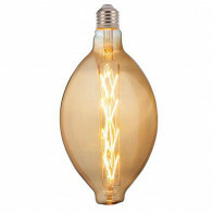 LED Lamp - Design - Elma - E27 Fitting - Amber - 8W - Warm Wit 2200K
