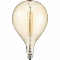 LED Lamp - Design - Trion Tropy DR - Dimbaar - E27 Fitting - Amber - 8W - Warm Wit 2700K