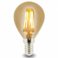 LED Lamp - Facto - Filament Bulb - E14 Fitting - 4W - Warm Wit 2700K