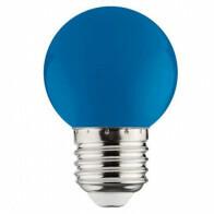LED Lamp - Romba - Blauw Gekleurd - E27 Fitting - 1W