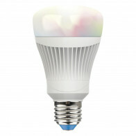 LED Lamp WiZ RGB - Trion - E27 Fitting - 11W Dimbaar - Slimme LED - Wifi LED - Smart LED met Afstandsbediening