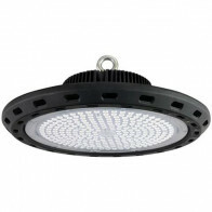 LED UFO High Bay 150W - Magazijnverlichting - Waterdicht IP65 - Helder/Koud Wit 6400K - Aluminium