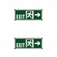 LED Noodverlichting 2 Pack - Rabonta Links/Rechts - Hangend - 3W
