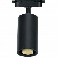 LED Railverlichting - Track Spot - Basto - GU10 Fitting - 1 Fase - Rond - Mat Zwart Aluminium