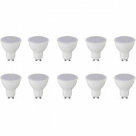 LED Spot 10 Pack - GU10 Fitting - 6W - Helder/Koud Wit 6000K