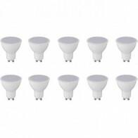 LED Spot 10 Pack - GU10 Fitting - 8W - Natuurlijk Wit 4200K
