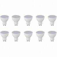 LED Spot 10 Pack - Aigi - GU10 Fitting - 8W - Warm Wit 3000K