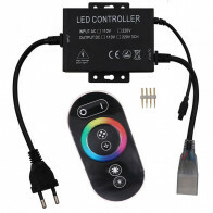 LED Strip Afstandsbediening Set 750W - RGB - Touch - Dimbaar - IP65 Waterdicht - 230V