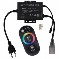 LED Strip Afstandsbediening Set 1500W - RGB - Touch - Dimbaar - IP65 Waterdicht - 230V