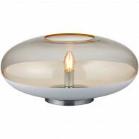 LED Tafellamp - Tafelverlichting - Trion Portony - E14 Fitting - Rond - Mat Wit - Aluminium